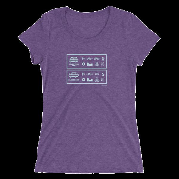 3e5da62049 Cyclelogical Van Capacity Women s T-Shirt – SYD and MACKY